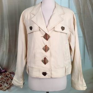 Dorothy Schoelen Platinum Cream Jacket